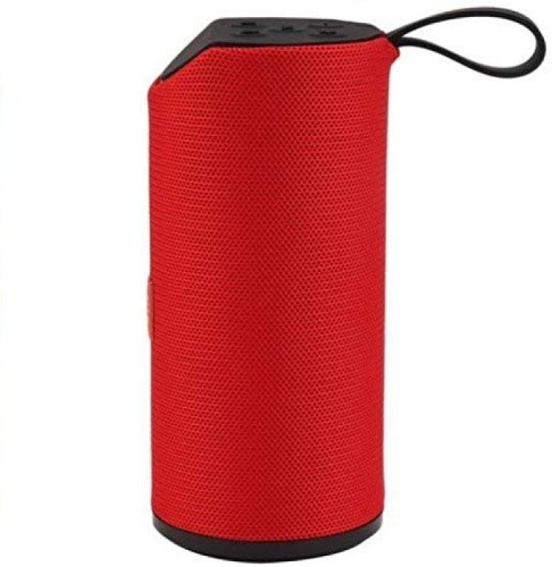 Rewy TG 113 Super Bass Splashproof Wireless SD Card Support Bluetooth Speaker 5 W Bluetooth Speaker(Red, Multicolor, Stereo Channel)