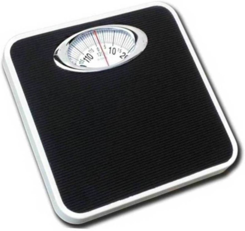 Gadget Tree Analog Weight Machine, Capacity 120Kg Manual Mechanical Full Metal Body Analog Weighing Scale(Black)