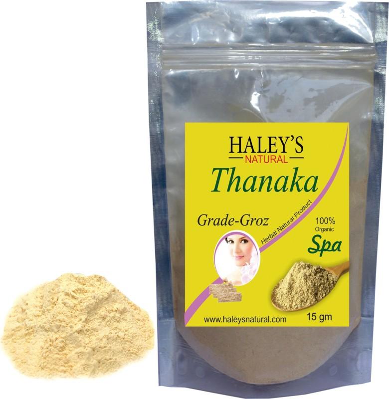 Haley S Natural Thanaka Powder For Hair Removal Product Cream 15 G