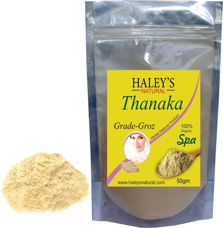 Haley S Natural Permanent Hair Removal Grade Groz Thanaka Powder