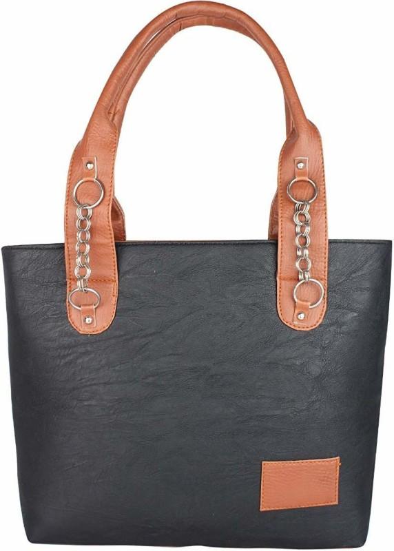rishi Women Black Shoulder Bag