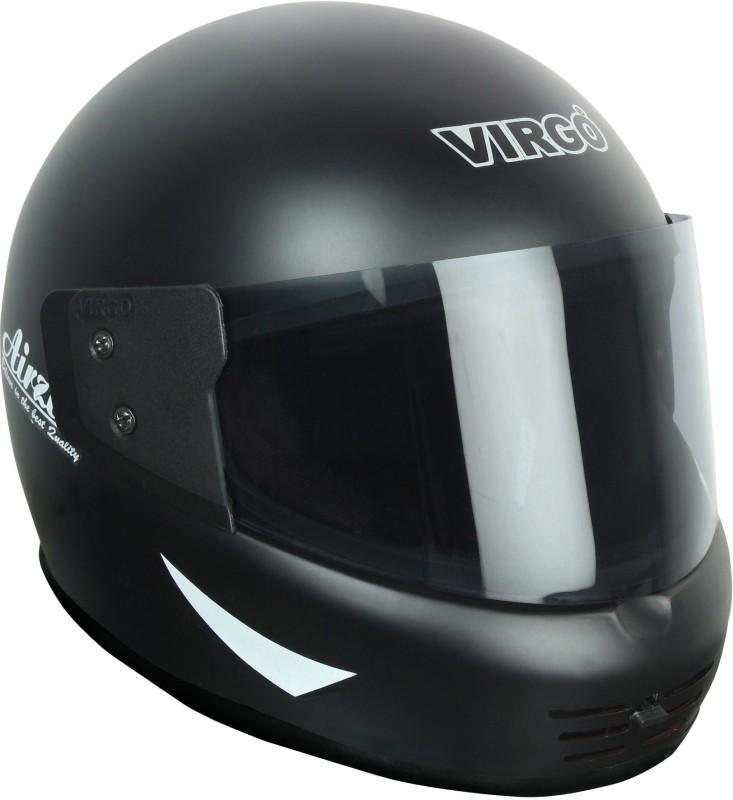 Virgo Airzed Motorbike Helmet(BlackMattTinted)