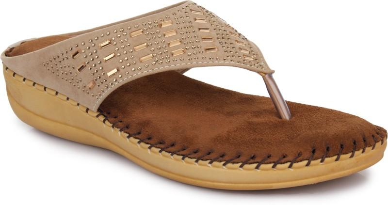 Doctor Soft Women Beige Flats- Buy