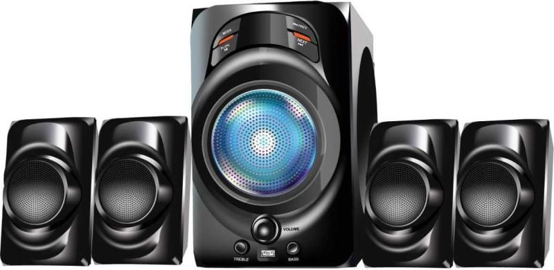 Flow Bold 33 W Bluetooth Home Audio Speaker(Black, 4.1 Channel)