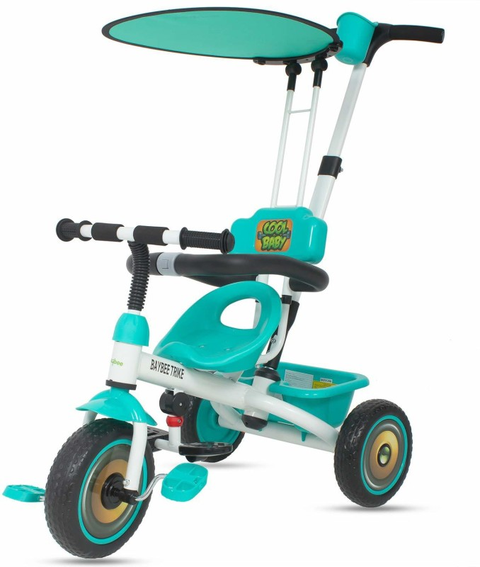a0a0a0322a9 Baybee Baby Tricycle Kid's Trike with Parental Adjust Push Handle Children  Tricycle/Bicycle for Kid'