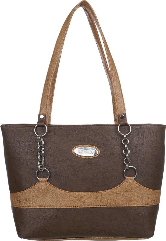 Janata Women Tan, Brown Shoulder Bag