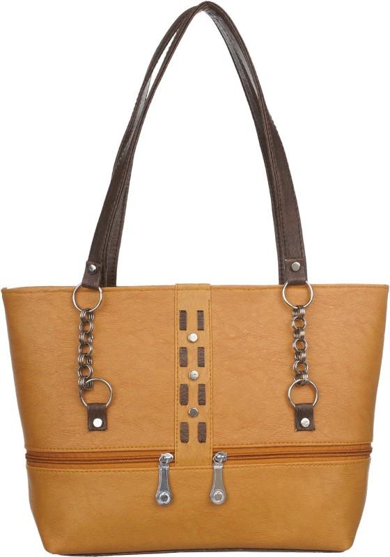 Janata Women Tan Shoulder Bag