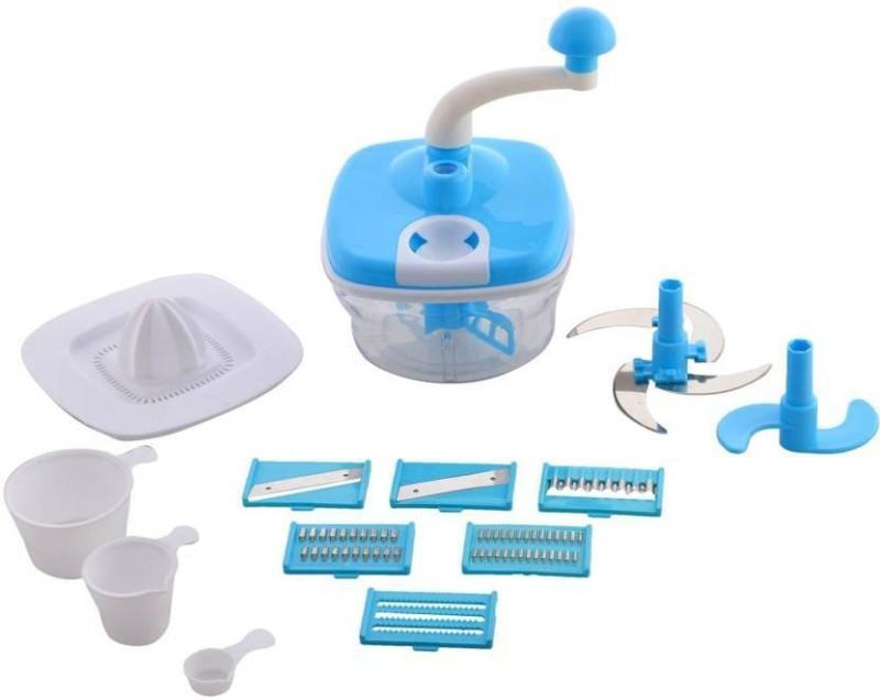 jay balaji 007 10 in 1 Food Processor Blue Kitchen Tool Set(Blue)