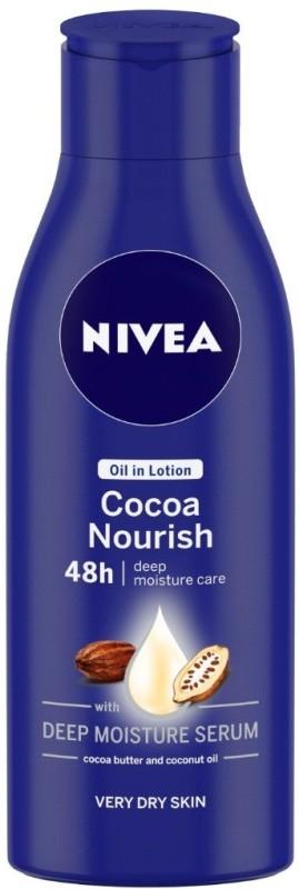 Nivea Cocoa Nourish Oil in Lotion(120 ml)