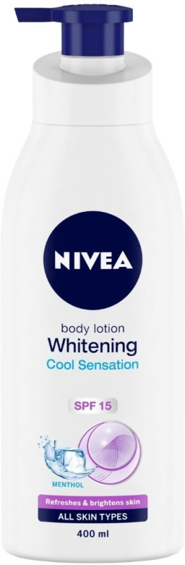 Nivea Whitening Cool Sensation Body Lotion(400 ml)