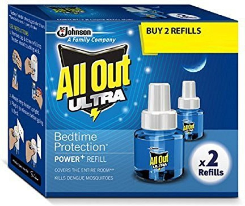 All out Ultra Mosquito Vaporiser Refill