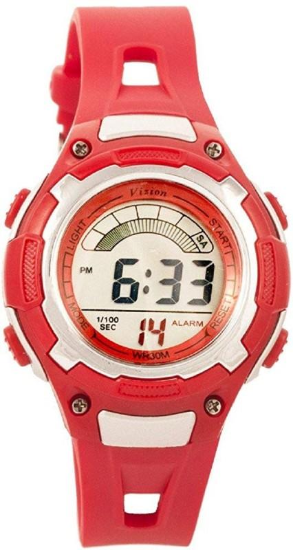 Vizion 8529019-8RED Sports Series Digital Watch - For Boys & Girls