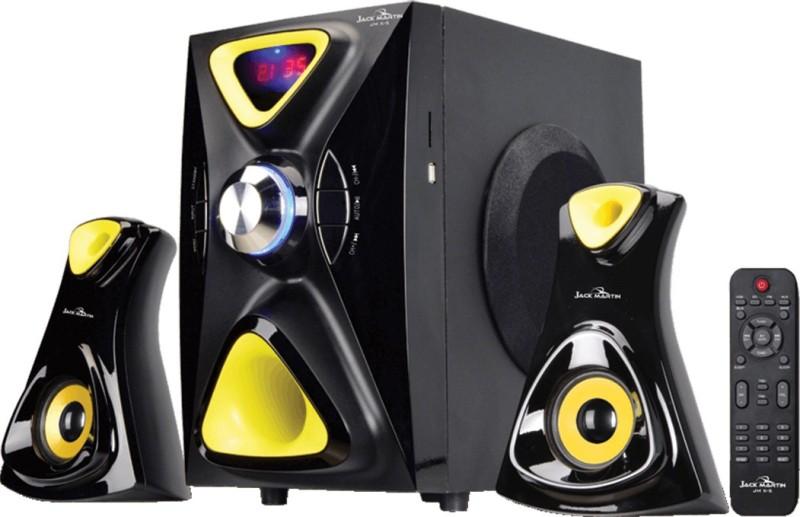 Jack Martin JM X5 126 W Bluetooth Home Theatre(Black, 2.1 Channel)