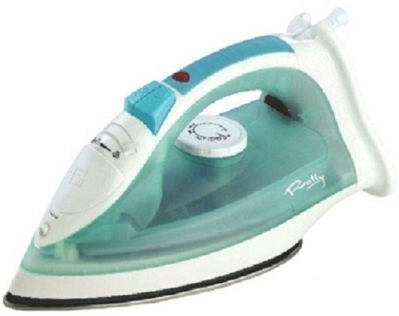 rally Iron Box 1250 W Steam Iron(Blue with White)