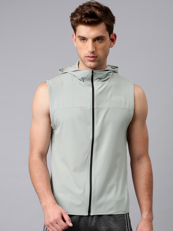 HRX by Hrithik Roshan Sleeveless Solid Men Jacket