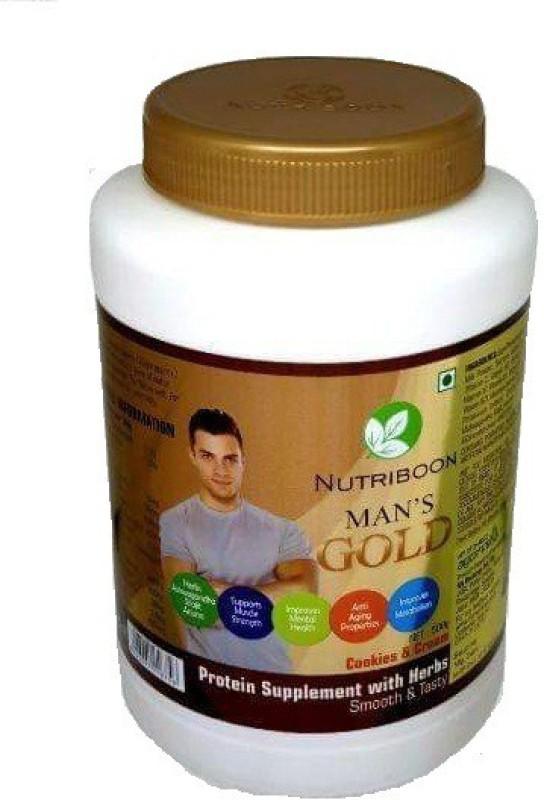 Nutriboon Men's Gold Protein Bars(500 g, Mango Flavor)