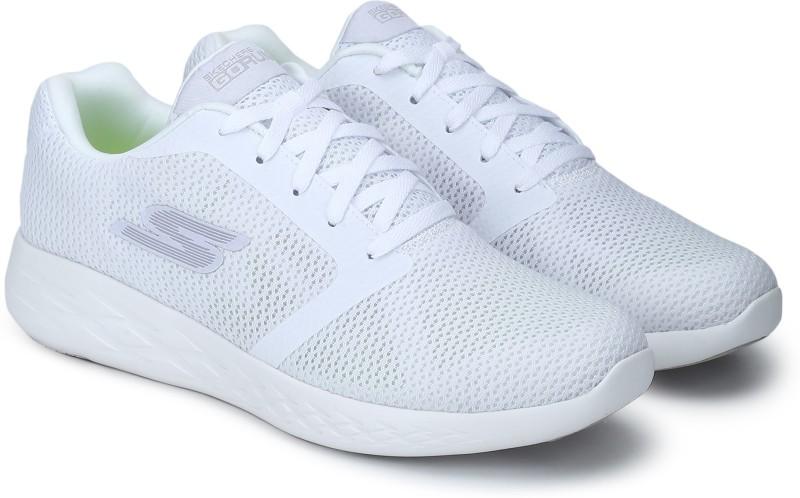 Skechers GO RUN 600 - REFINE Running Shoes For Men(White)