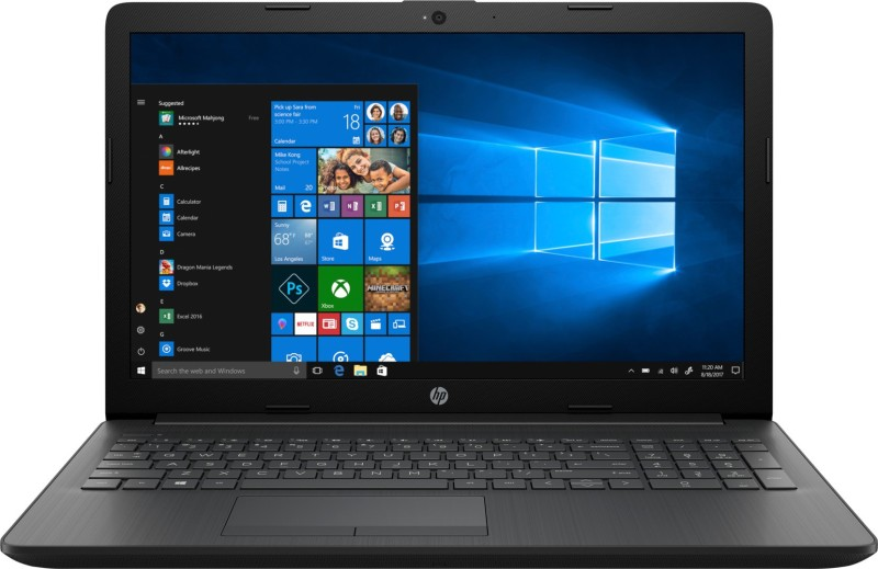 HP 15q Core i3 7th Gen - (4 GB/1 TB HDD/Windows 10 Home) 15q-ds0006TU Laptop(15.6 inch, Sparkling Black, 2.04 kg)