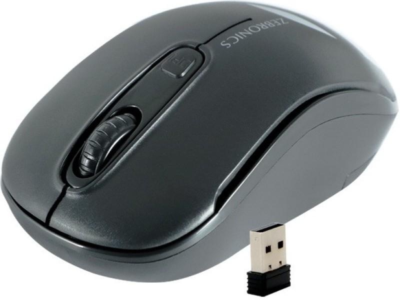 Zebronics 01-DASH2.5 GHZ Wireless Optical Mouse(2.4GHz Wireless, Black)