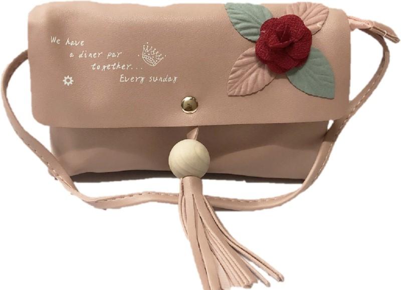 HIGH-CHOICE Pink Sling Bag