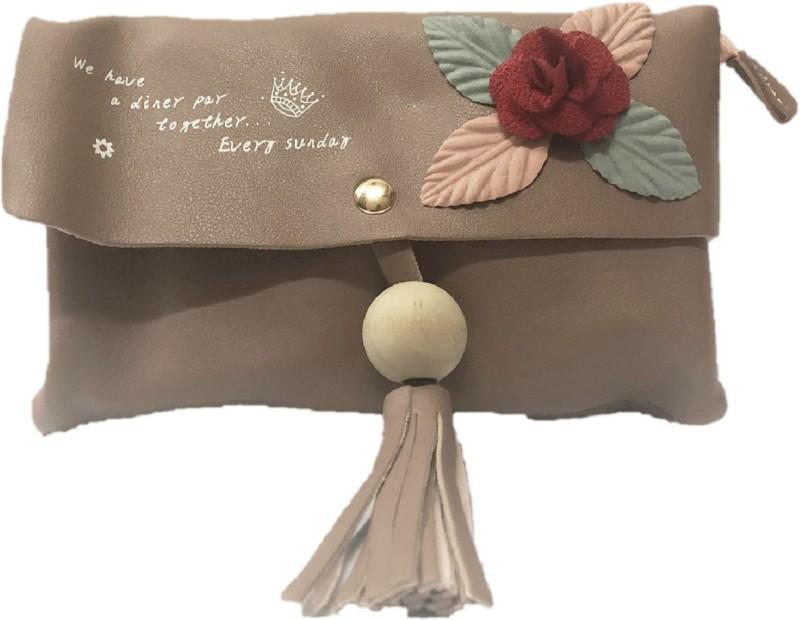HIGH-CHOICE Brown Sling Bag