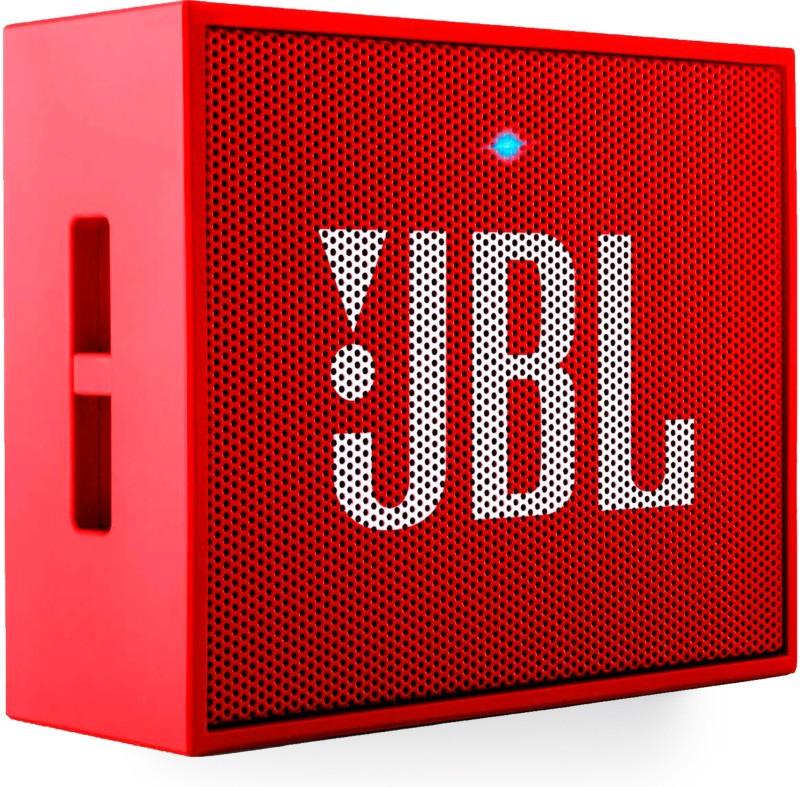 JBL Go PLUS Portable Bluetooth Speaker(Red, Mono Channel)