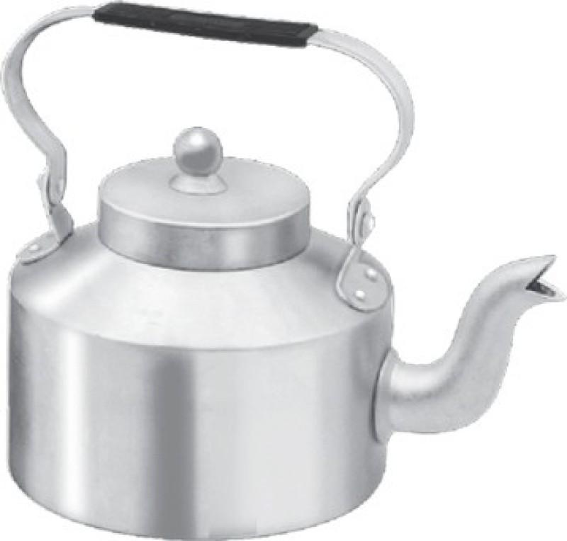 Pretail Traditional Aluminium Roadside Cutting Chai Kettle for Tea/Coffee(1000ml) Tea Urn(1000 ml)