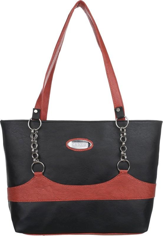 Janata Women Brown, Black Shoulder Bag