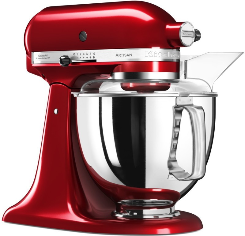 KitchenAid 5KSM150PSDCA CLASSIC TILT HEAD ARTISAN CANDY APPLE(D) 240 Juicer Mixer Grinder(Candy Apple, 1 Jar)