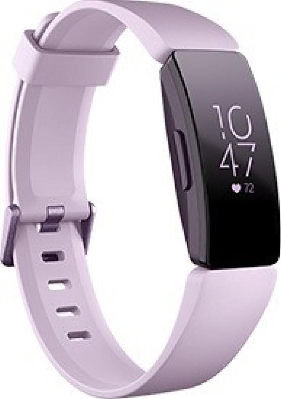 Fitbit Inspire HR(Purple Strap, Size : Regular)