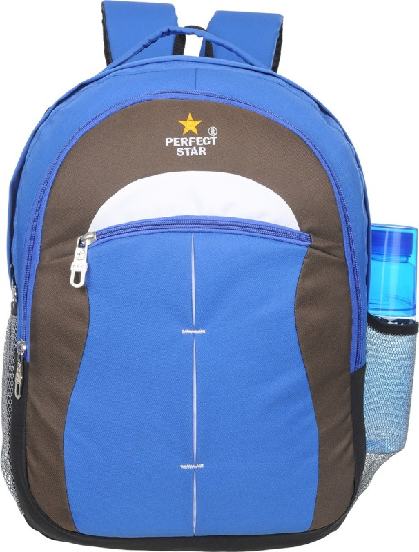 perfect star g3 35 L Backpack(Blue, Black, White)