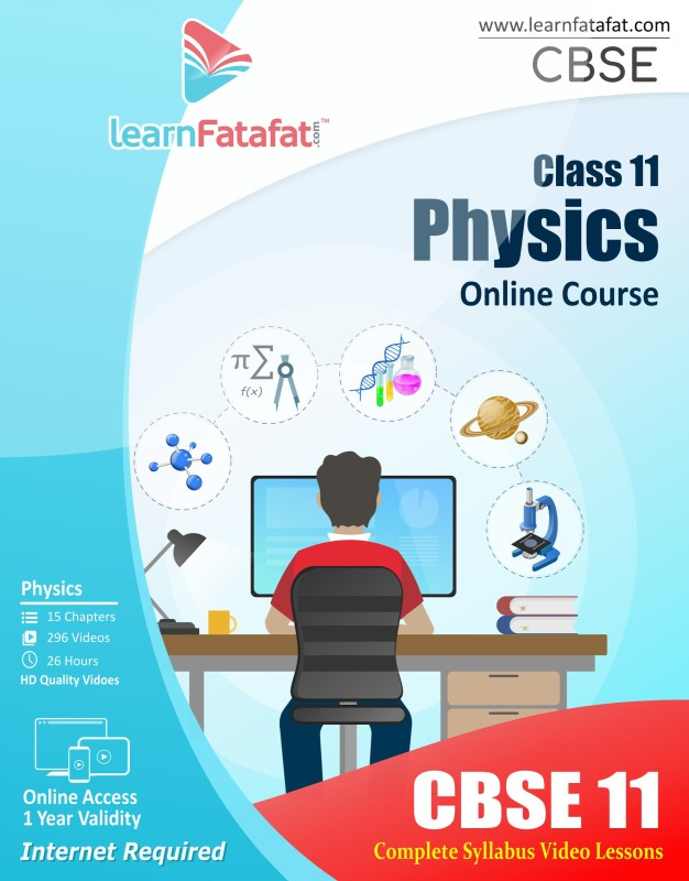 Learnfatafat Class 11 Physics Full E learning Video Course - Online(Online)