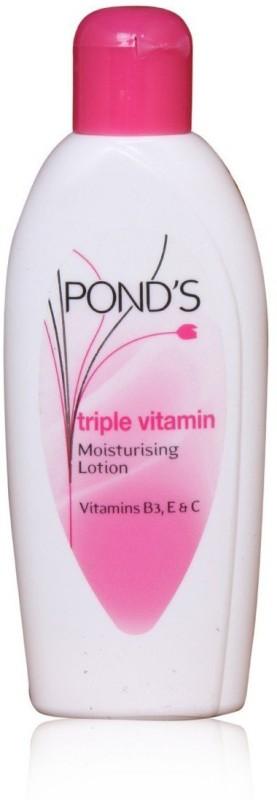 Ponds Triple Vitamin Moisturising Body Lotion, 100ml(100)