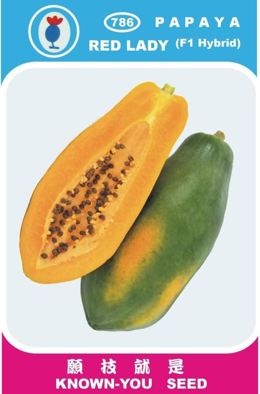 Pearl Red lady papaya taiwan 786 seeds Seed(750 per packet)