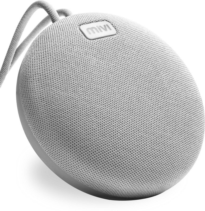 Mivi Roam 5 W Bluetooth Speaker(Grey, Stereo Channel)