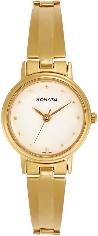 Sonata 8096YM04C Analog Watch - For Women