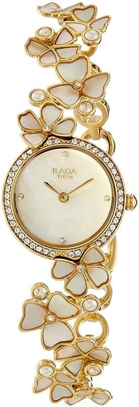Titan 95030YM01 Raga Watch - For Women