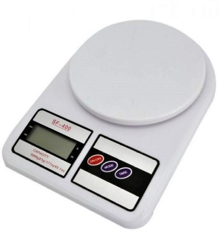 ZIORK Digital 10kg Kitchen Scale Balance Multi-purpose weight measuring machine Weighing Scale(White)