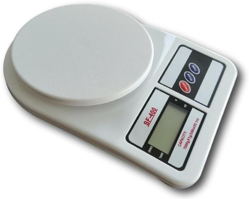 ZIORK Upto 10kg Vegetable Kitchen SF 400 Weighing Scale(White)