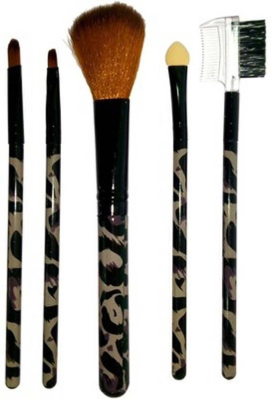 Exmon Glamour Makeup Brush Set (Pack of 5)(Pack of 5)