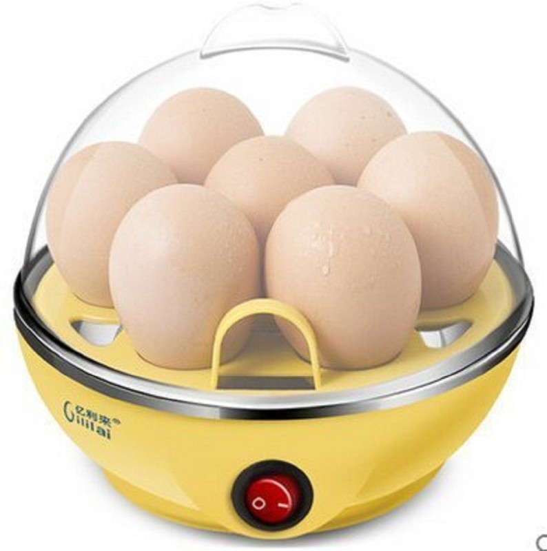 Skyfish Attractive Electric Boiler Steamer Poacher Egg Cooker and Fast Electric lour with Egg Cooker (7 Eggs) (Multicolor) Egg Grilling Machine