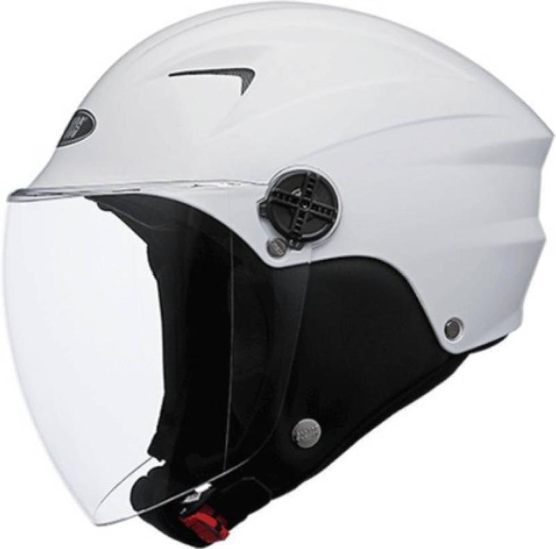 Black A01 Motorbike Helmet(White)