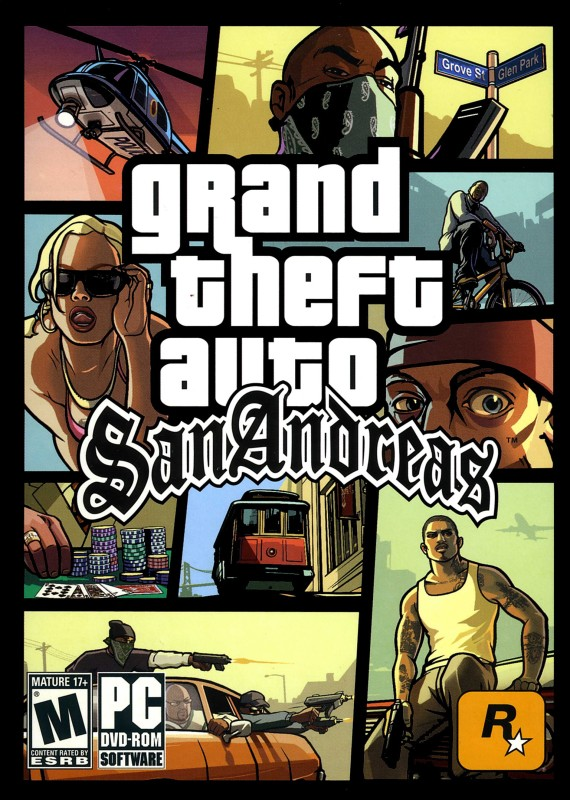 Grand Theft Auto: San Andreas (OFFLINE PC GAME) (Complete Edition)(Open World, for PC)