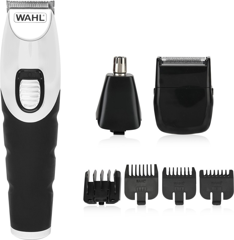 Wahl 09893-024  Runtime: 60 min Trimmer for Men(Black, Steel)