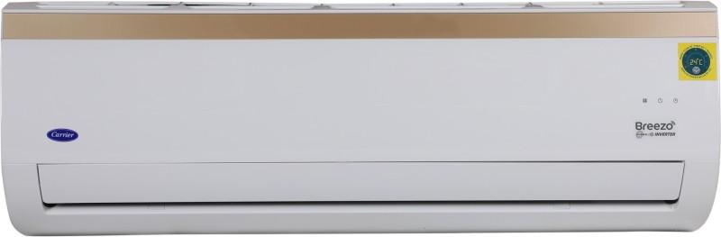 Carrier 1.5 Ton 3 Star Split Inverter AC with Wi-fi Connect - White(18K 3 Star Breezo Hybridjet Wi-Fi Invereter R410A (I002) / 18K 3 Star Hybridjet Inv R410A ODU (I002), Copper Condenser)