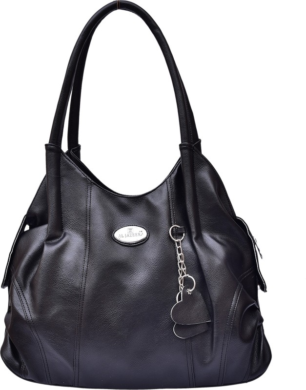 Al Jazeera Women Black Shoulder Bag