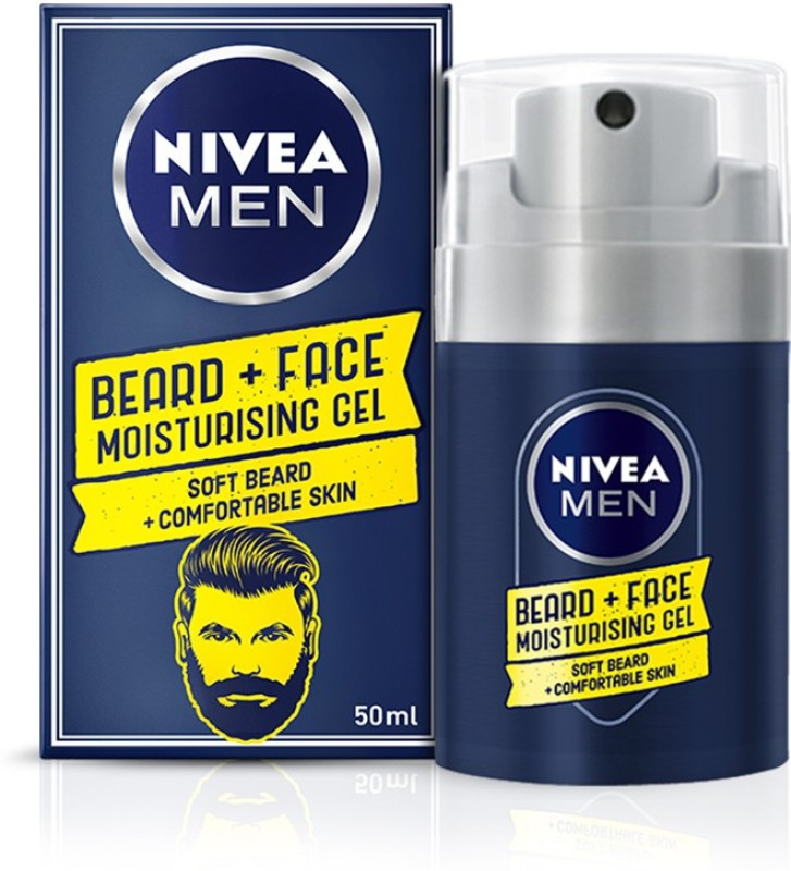 Nivea Men, Beard and Face Moisturising Gel(50 ml)
