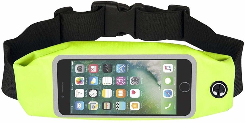 Flavo Arm Band Case for All smartphone(Green)