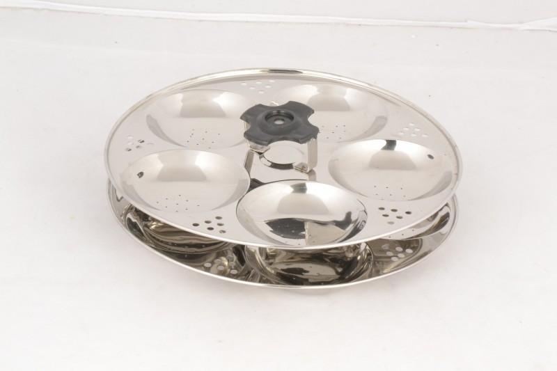 Premium Multi Kadai 10 Idly Pot-Copper Bottom Induction & Standard Idli Maker(2 Plates , 10 Idlis )