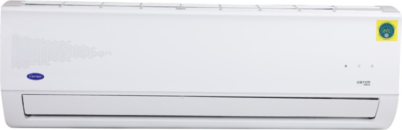 Carrier 1.5 Ton 3 Star Split AC - White(18K 3 Star Ester Neo (F003) / 18K 3 Star Fixed Speed R32 ODU(F003), Copper Condenser)